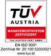 TÜV Austria certificatet